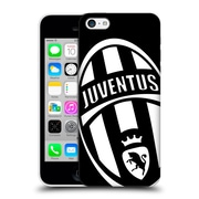 Official Juventus Football Club Crest Mono Logo Hard Back Case For Apple Iphone 5C