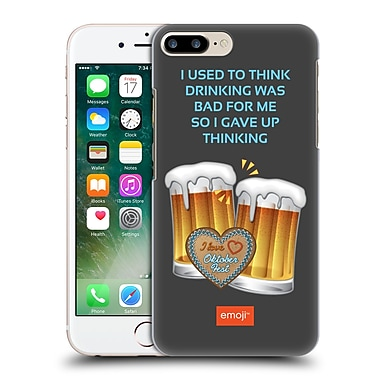 Official Emoji Oktoberfest Drinking Hard Back Case For Apple Iphone 7 Plus