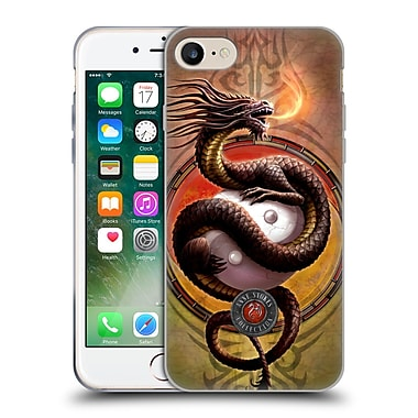 Official Anne Stokes Dragons Yin Yang Protector Soft Gel Case For Apple Iphone 7