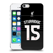 Official Liverpool Football Club Shirt Away Shirt Black Sturridge Hard Back Case For Apple Iphone 5 / 5S / Se