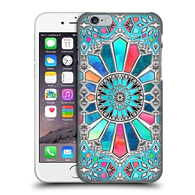 Official Micklyn Le Feuvre Patterns 3 Iridescent Watercolour Brights On White Hard Back Case For Apple Iphone 6 / 6S