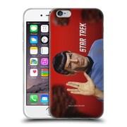 Official Star Trek Spock Vulcan Salute Soft Gel Case For Apple Iphone 6 / 6S