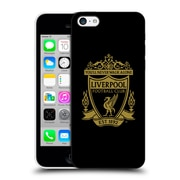 Official Liverpool Football Club Crest 2 Black 2 Hard Back Case For Apple Iphone 5C