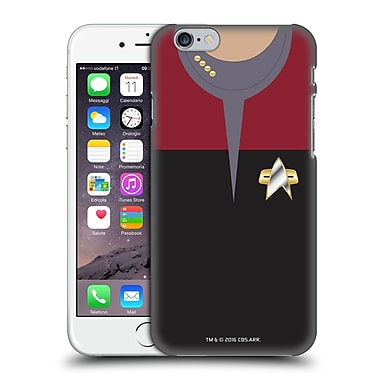 Official Star Trek Uniforms And Badges Ds9 Captain Hard Back Case For Apple Iphone 6 / 6S