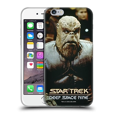 Official Star Trek Iconic Aliens Ds9 Morn Soft Gel Case For Apple Iphone 6 / 6S