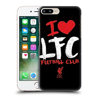 Official Liverpool Football Club Redmen I Love Lfc Hard Back Case For Apple Iphone 7 Plus