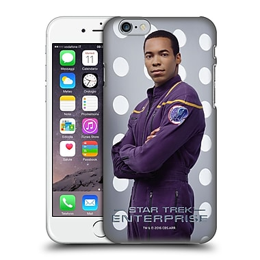 Official Star Trek Iconic Characters Ent Travis Mayweather Hard Back Case For Apple Iphone 6 / 6S