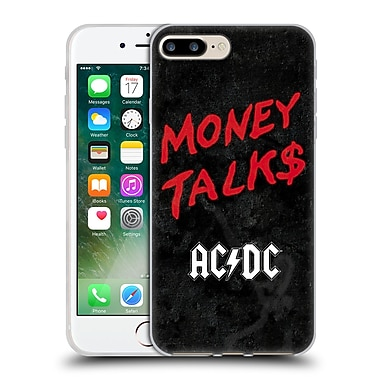 Official Ac/Dc Acdc Song Titles Money Talks Soft Gel Case For Apple Iphone 7 Plus