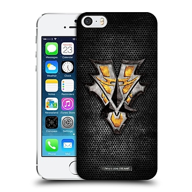 Official Star Trek Klingon Badges Order Of The Bat'Leth Hard Back Case For Apple Iphone 5 / 5S / Se