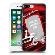 Custom Customised Personalised Liverpool Fc Make Us Dream Banner Hard Back Case For Apple Iphone 7 Plus