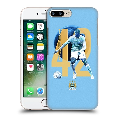 Official Manchester City Man City Fc Players Yaya Toura%Hard Back Case For Apple Iphone 7 Plus
