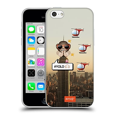 Official Emoji Photo Graphic Yolo Soft Gel Case For Apple Iphone 5C