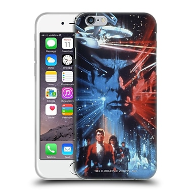 Official Star Trek Movie Posters Tos The Search For Spock Soft Gel Case For Apple Iphone 6 / 6S