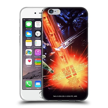 Official Star Trek Movie Posters Tos The Undiscovered Country Soft Gel Case For Apple Iphone 6 / 6S
