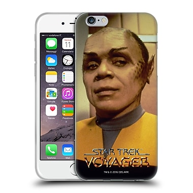 Official Star Trek Tuvix Voy Operations Uniform Soft Gel Case For Apple Iphone 6 / 6S