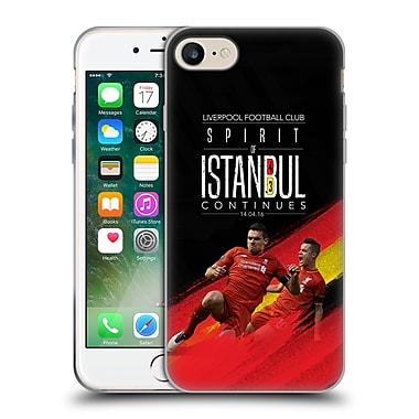 Official Liverpool Football Club Anfield Magic Spirit Of Istanbul Soft Gel Case For Apple Iphone 7