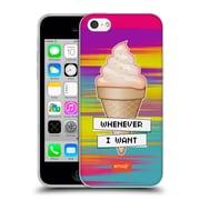 Official Emoji Food Ice Cream Soft Gel Case For Apple Iphone 5C