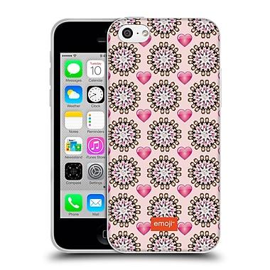 Official Emoji Floral Patterns Dancing Women Soft Gel Case For Apple Iphone 5C