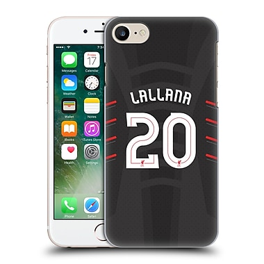 Official Liverpool Football Club Players Away Kit 16/17 Group 2 Lallana Hard Back Case For Apple Iphone 7