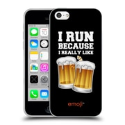 Official Emoji Food Beer Soft Gel Case For Apple Iphone 5C