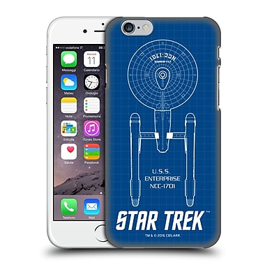Official Star Trek Ships Of The Line Tos Uss Enterprise Ncc-1701 Hard Back Case For Apple Iphone 6 / 6S