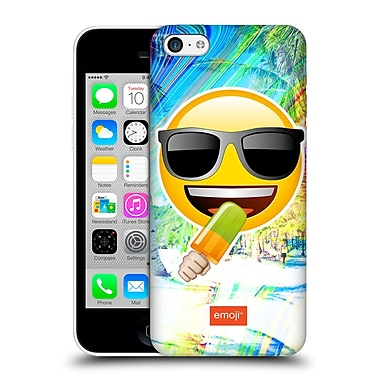 Official Emoji Solos Sunglasses Hard Back Case For Apple Iphone 5C