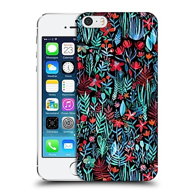 Official Micklyn Le Feuvre Watercolour Garden Walkd At Night Hard Back Case For Apple Iphone 5 / 5S / Se
