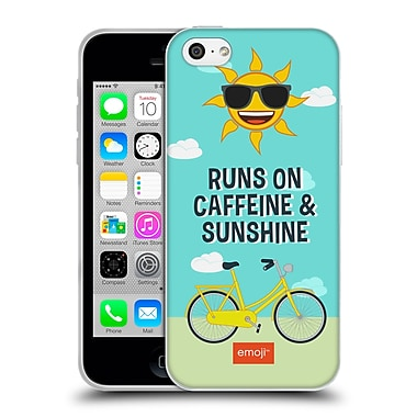 Official Emoji Funny Summer Quotes Bicycle Soft Gel Case For Apple Iphone 5C