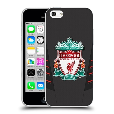 Official Liverpool Football Club Kit 2016/17 Crest Away Shirt Soft Gel Case For Apple Iphone 5C