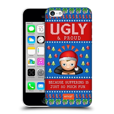Official Emoji Ugly Christmas So Much Fun Hard Back Case For Apple Iphone 5C