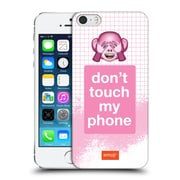 Official Emoji Pastel Sass Do Not Touch Hard Back Case For Apple Iphone 5 / 5S / Se