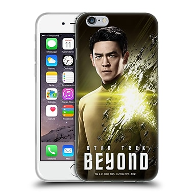 Official Star Trek Characters Beyond Xiii Sulu Soft Gel Case For Apple Iphone 6 / 6S