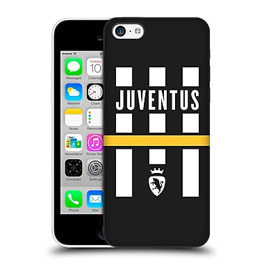 Official Juventus Football Club Lifestyle Logo Explosion Black Hard Back Case For Apple Iphone 5C