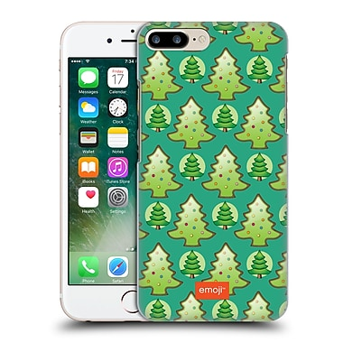Official Emoji Christmas Patterns Trees Hard Back Case For Apple Iphone 7 Plus