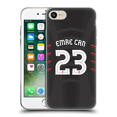 Official Liverpool Football Club Players Away Kit 16/17 Group 1 Emre Can Soft Gel Case For Apple Iphone 7