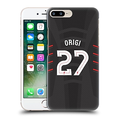 Official Liverpool Football Club Players Away Kit 16/17 Group 2 Origi Hard Back Case For Apple Iphone 7 Plus