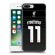 Official Liverpool Football Club Shirt New Away Shirt Black Firmino Hard Back Case For Apple Iphone 7 Plus