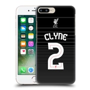 Official Liverpool Football Club Shirt New Away Shirt Black Clyne Hard Back Case For Apple Iphone 7 Plus