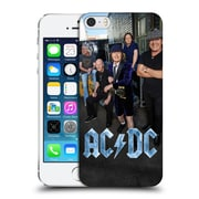 Official Ac/Dc Acdc Group Photo Garage Hard Back Case For Apple Iphone 5 / 5S / Se