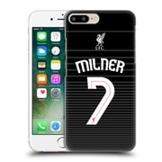 Official Liverpool Football Club Shirt New Away Shirt Black Milner Hard Back Case For Apple Iphone 7 Plus