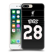 Official Liverpool Football Club Shirt New Away Shirt Black Ings Hard Back Case For Apple Iphone 7 Plus