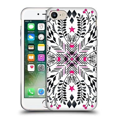 Official Micklyn Le Feuvre Patterns 5 Winter Graphic Folk Art Soft Gel Case For Apple Iphone 7