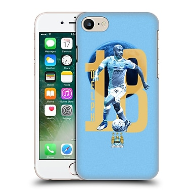 Official Manchester City Man City Fc Players Fabian Delph Hard Back Case For Apple Iphone 7