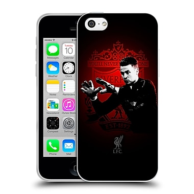 Official Liverpool Football Club Red Pride Mignolet Soft Gel Case For Apple Iphone 5C