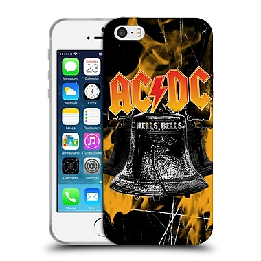 Official Ac/Dc Acdc Logo Flames And Bells Soft Gel Case For Apple Iphone 5 / 5S / Se