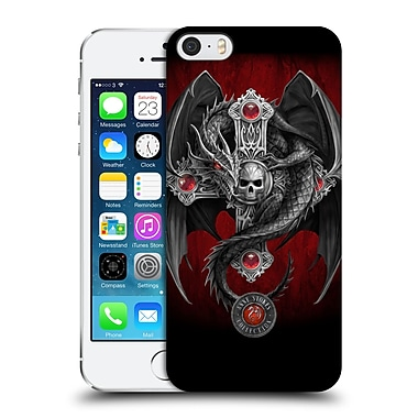 Official Anne Stokes Tribal Gothic Dragon Hard Back Case For Apple Iphone 5 / 5S / Se