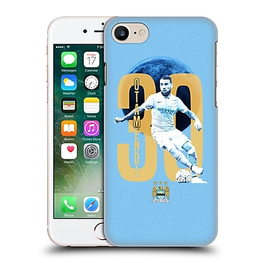 Official Manchester City Man City Fc Players Nicolas Otamendi Hard Back Case For Apple Iphone 7
