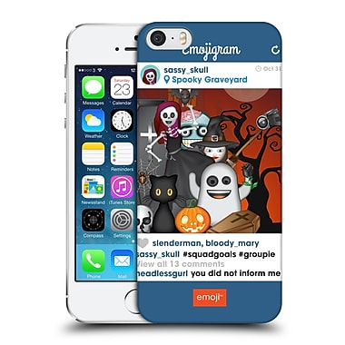 Official Emoji Halloween Parodies Squad Goals Hard Back Case For Apple Iphone 5 / 5S / Se