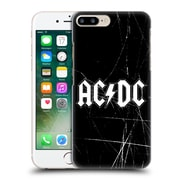 Official Ac/Dc Acdc Logo White Hard Back Case For Apple Iphone 7 Plus