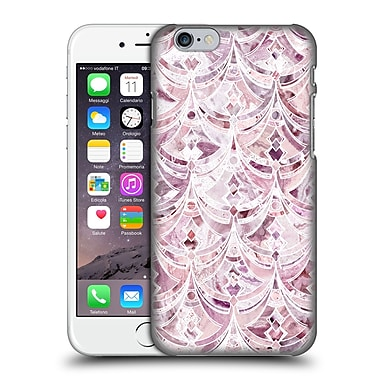 Official Micklyn Le Feuvre Marble Patterns Berry Frosting Art Deco Pattern Hard Back Case For Apple Iphone 6 / 6S